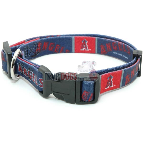 Los Angeles Angels MLB Dog Collar