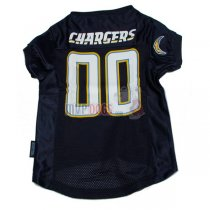 Los Angeles Chargers NFL Dog Jersey V3