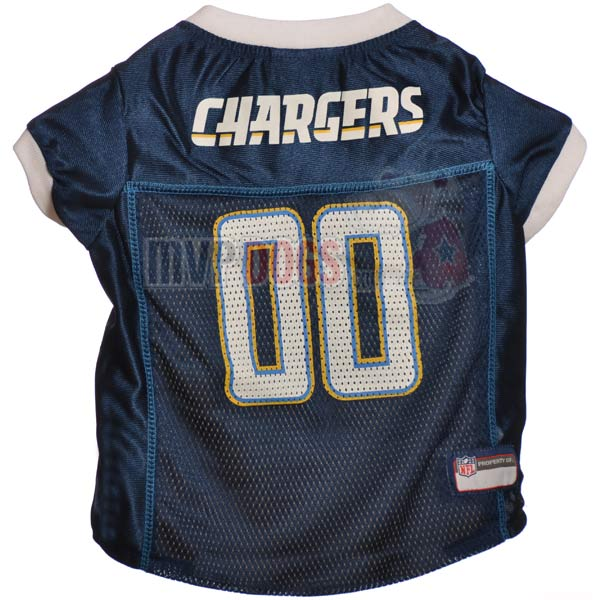 Los Angeles Chargers NFL Dog Jersey