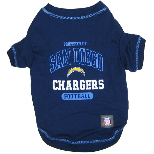 Los Angeles Chargers NFL Dog Tee Shirt