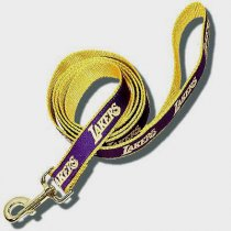 Los Angeles Lakers Woven Ribbon Leash
