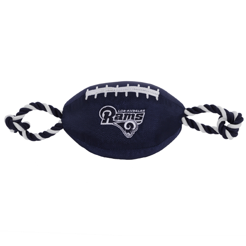 Los Angeles Rams NFL Dog Football Toy