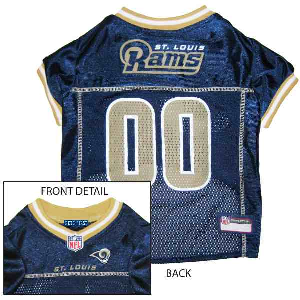 Los Angeles Rams NFL Dog Jersey