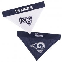 Los Angeles Rams NFL Reversible Dog Bandana