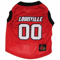 Louisville Cardinals NCAA Dog Jersey