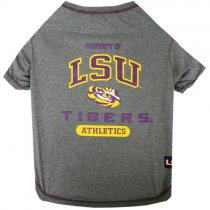 LSU Tigers NCAA Dog Tee Shirt
