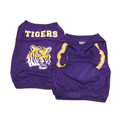 LSU Tigers Official Replica Dog Jersey