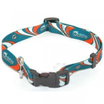 Miami Dolphins NFL Dog Collar