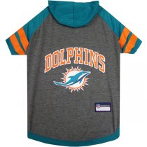 Miami Dolphins NFL Dog Hoodie Shirt