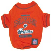 Miami Dolphins NFL Dog Tee Shirt