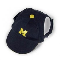 Michigan Wolverines Dog Baseball Cap