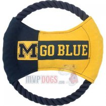 Michigan Wolverines NCAA Rope Disk Toy