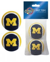 Michigan Wolverines Tennis Balls