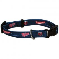 Minnesota Twins MLB Dog Collar