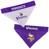 Minnesota Vikings NFL Reversible Dog Bandana