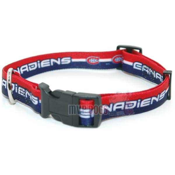 Montreal Canadiens NHL Dog Collar