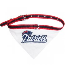 New England Patriots NFL Dog Collar Bandana