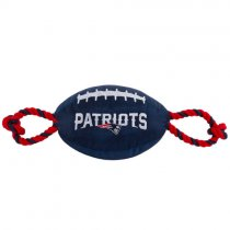 New England Patriots NFL Dog Football Toy