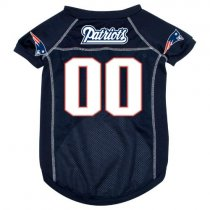 New England Patriots NFL Dog Jersey V3