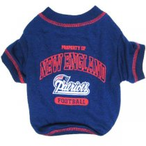 New England Patriots NFL Dog Tee Shirt