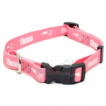 New England Patriots NFL Pink Dog Collar