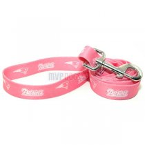 New England Patriots NFL Pink Dog Leash