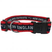 New England Patriots Woven Dog Collar