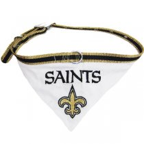 New Orleans Saints NFL Dog Collar Bandana