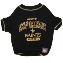New Orleans Saints NFL Dog Tee Shirt