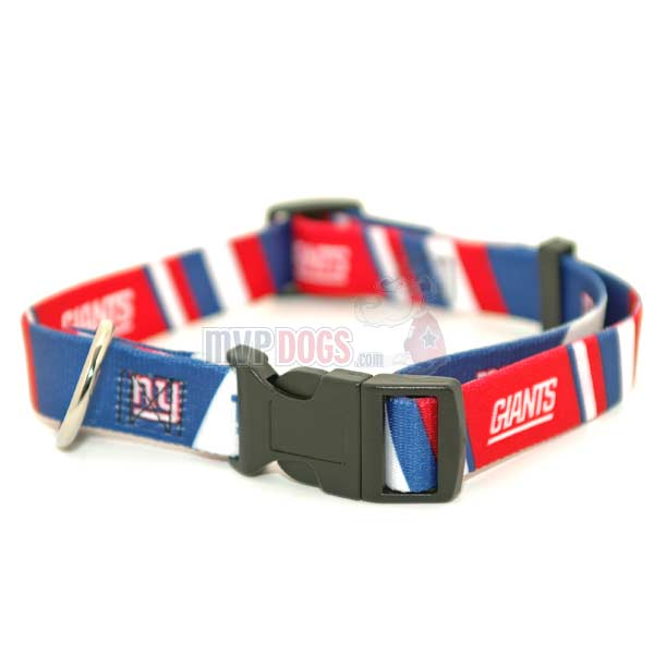 New York Giants NFL Dog Collar