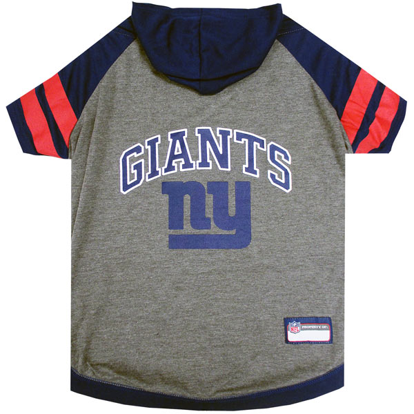 New York Giants NFL Dog Hoodie Shirt