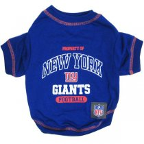 New York Giants NFL Dog Tee Shirt