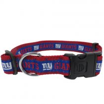 New York Giants Woven Dog Collar