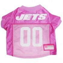 New York Jets PINK Dog Jersey