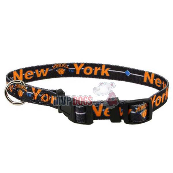 New York Knicks NBA Dog Collar