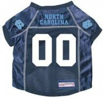 North Carolina Tar Heels NCAA Dog Jersey