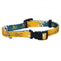 Oakland Athletics MLB Dog Collar