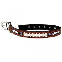 Oakland Raiders Classic Leather Collar