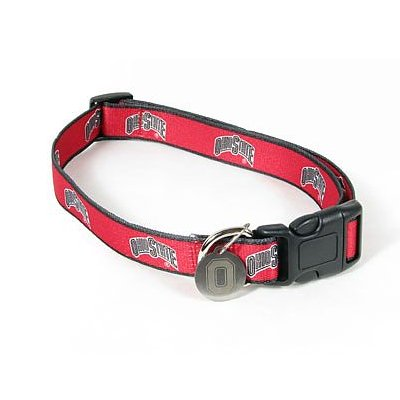 Ohio State Buckeyes Designer Collar with ID Tag