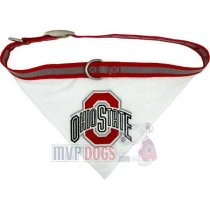 Ohio State Buckeyes NCAA Dog Collar Bandana