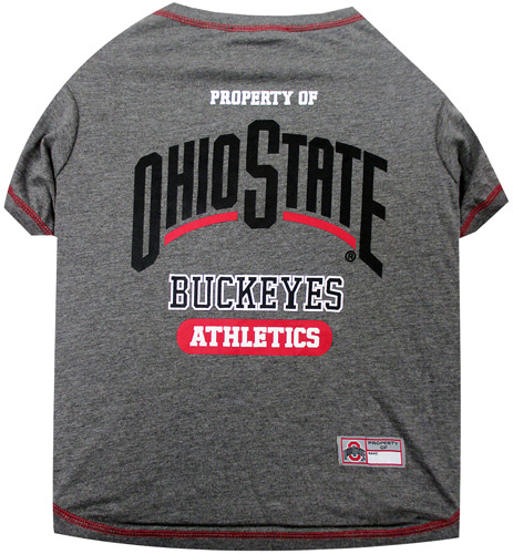 Ohio State Buckeyes NCAA Dog Tee Shirt