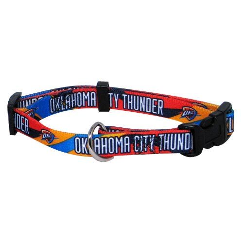 Oklahoma City Thunder NBA Dog Collar