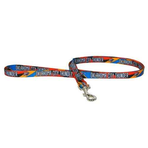 Oklahoma City Thunder NBA Dog Leash