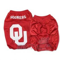 Oklahoma Sooners Official Replica Dog Jersey