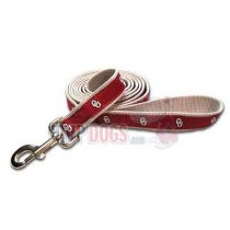 Oklahoma Sooners Woven Ribbon Leash