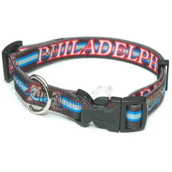 Philadelphia 76ers NBA Dog Collar