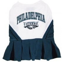Philadelphia Eagles Cheerleader Dog Dress