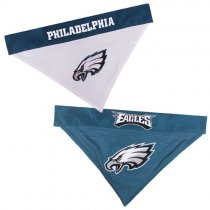 Philadelphia Eagles NFL Reversible Dog Bandana