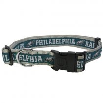 Philadelphia Eagles Woven Dog Collar