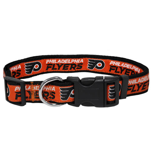 Philadelphia Flyers Woven Dog Collar